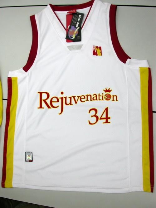 前一段设计的球衣标示