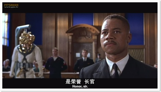 怒海潜将-man of honor