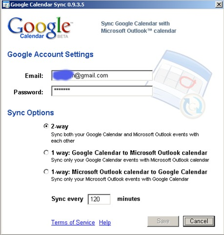 Google Sync for your mobile phone
