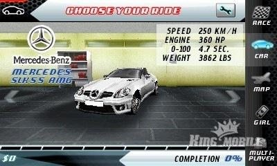 刚刚找到的好游戏Asphalt.4.Elite.Racing.HD v112