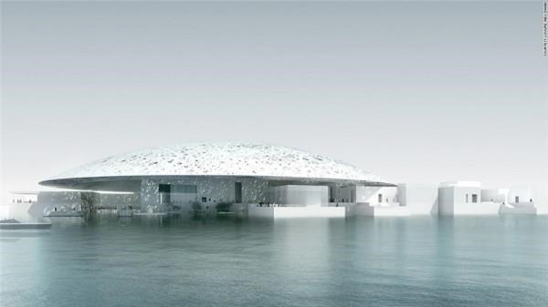 2015年最激动人心的建筑工程:阿布扎比卢浮宫