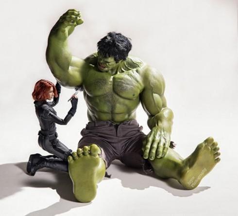黑寡妇与绿巨人的奸情?
